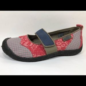 Keen Multicolored Canvas Mary Janes 7